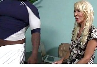 White MILF Mom Fucks Black Man 13