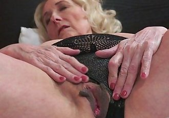 Horny Granny And Her Younger Lover - 6 min HD