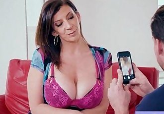 Hard Style Sex Action On Cam Wtih Slut Busty Wife vid-24