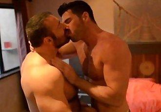 Hairy gay bear fucking his hunky boyfriendHD