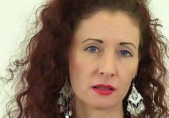 British milf Scarlet fingers her wet cuntHD