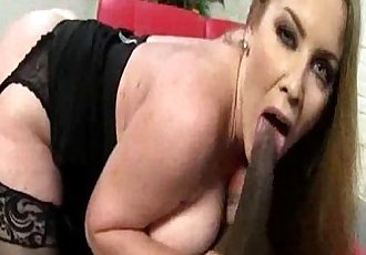 Interracial Sex Ride for Big Titted Mom - 5 min