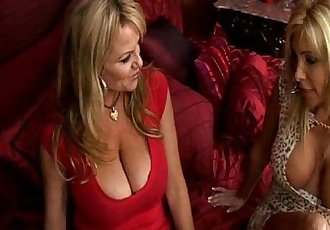 Two Busty Cougars Land A Hot Stud - 4 min