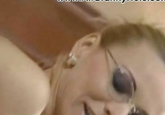 german Blonde MILF Fucked