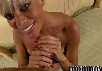 hot blonde milf fucks for facial - 6 min