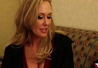 Brandi Love screams as she gets her tight cunt nailed hard - MilfMom.com - 3 min