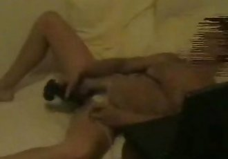 My mum chatting and masturbating Hidden cam - 51 sec