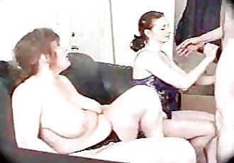 bbw in threesome