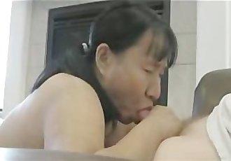 Asian Blows Her Husband