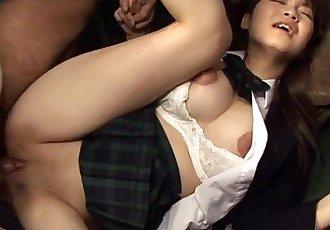 japanhdv 巴士 他媽的 彌生 吉野 場景 拖車 - 1 min 16 sec