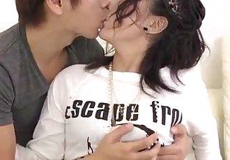 Steamy porn show along superb Megumi Haruka - 12 min