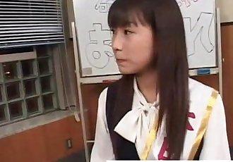 真的 业余的 穿着衣服 亚洲 青少年 吃 暨 在 groupsex