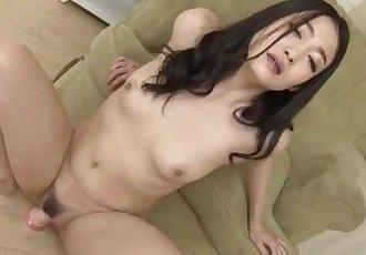 Ryu Enami 驚人的 手淫 獨奏 下 她的 潮濕的 芬妮 - 12 min