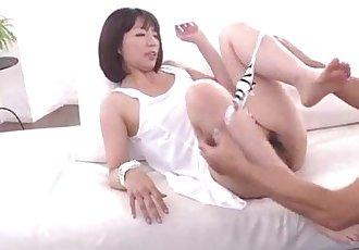 泉 Manaka 性感的 妈妈 的 搞砸 通过 步骤 儿子 - 12 min