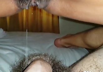 Asian Cowgirl Creampie Drip - 19 sec