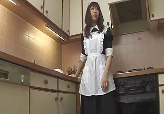 Horny Aiuchi Shiori wildest food insertion action - 8 min