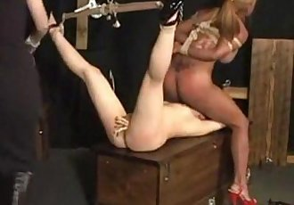 Freaky Sex with the Sex Slaves, Free Lesbian HD Porn - abuserporn.com - 21 min