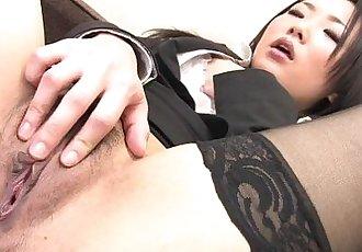 日本 女孩 在 尼龍 絲襪 自慰 - 7 min hd