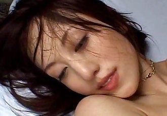 可爱的 Arisa 菅野 毛茸茸的 猫 他妈的 与 暨 吞下去 - 10 min