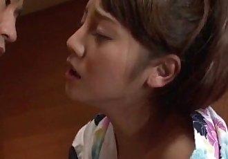 Rei 水 亞洲 妻子 鉆孔 在 真的 熱 禮貌 - 12 min