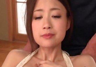 Mayuka Akimoto?needs cock in each of her tight holes - 5 min