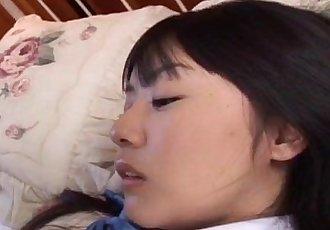 Tsubomi sucks boner it with wet peach under uniform - 10 min