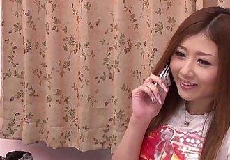日本 貝貝 手指 她的 貓 - 7 min hd