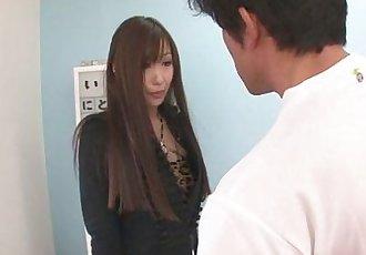 A hot asian girl blowjob and sex with Natsuki - 8 min
