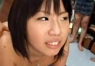 More Busty Asian Bukkake @ http://wendyjuggs.ioffer.com - 3 min