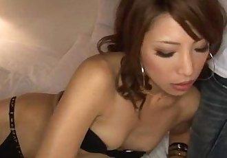 Cock sucking Aya Sakuraba loves fucking and posing - 12 min