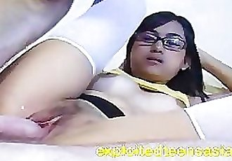 June Filipino Amateur Teen 18 Plus Big Tits & Eye Glasses