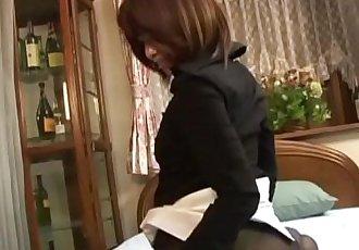 毛茸茸的 東方 貝貝 擰 后 pussyplay - 10 min