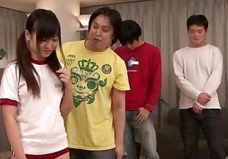 亞洲 亮 朝霞 肯定 喜歡 他媽的 在 小組 - 12 min