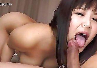 Happy HouseMayu Kawais Tits Bounce As Shes Fucked Hard and Creampied 15 min HD