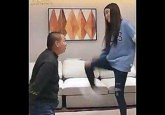 Chinese Vivi Facebusting