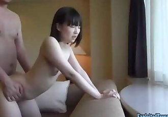 Jav Amateur Teen Majiro Barely Legal Babe Fucks Fat Guy Uncensored
