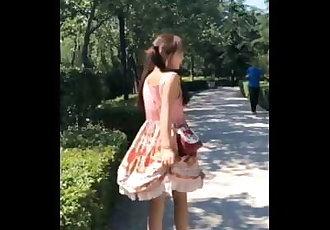 《国产》洛丽塔公园露出,萝莉,高考被采访B站福利姬,bilibili