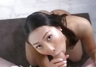 Asian Step Mom Enjoys Step Sons Cock