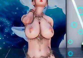 GIRLS DAY - SOMETHING Uncensored 3D Erotic Dance