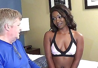 Skyler NicoleEbony Cutie Fucks Not Her Stepdad