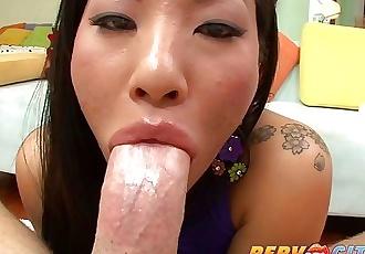 PervCity Japanese Asa Akira Ass Fucked