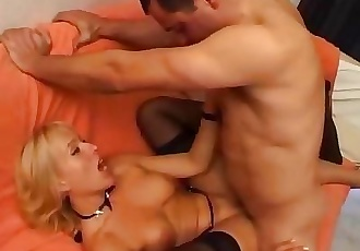Hot milf and her younger lover 454