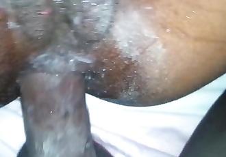 Ebony 1st time anal