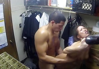 Wicked - Kalina Ryu gets fucked in the closet