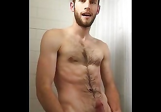 Piss and Cum in the Shower