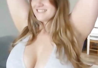 Chubby Girl with Giant Boobs Sucks and Fucks