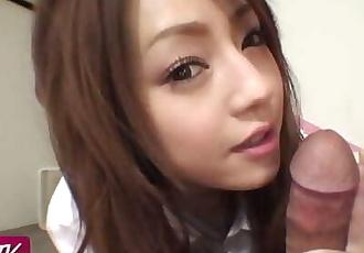 Hot Japanese Chick Ria Sakurai POV Uncensored