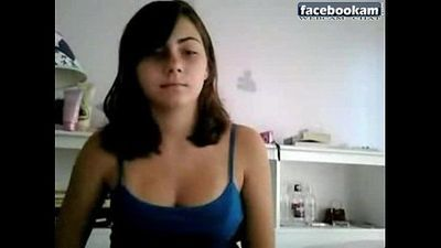 Nice tities on chat teen - 5 min