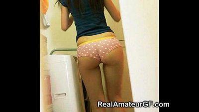 Sexiest Teen GFs Asses! - 3 min