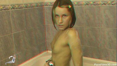 Masturbation in bath - 6 min HD